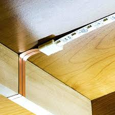 how to install hardwired under cabinet lighting kitchen direct wire flat power works side seams create