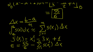Numerical Integration Using Excel Calculus In A Nutshell