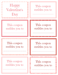 printable and editable gift certificate templates gift printable valentine coupon book blank