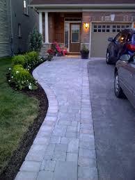 59 Best Modern Driveway Images On Pinterest  Paving Pattern Backyard Driveway Ideas