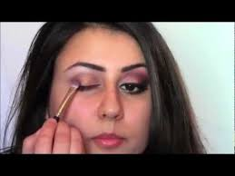 peach plum stani indian evening party makeup look tutorial you