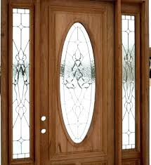 front door inserts stained glass exterior doors entry stanley replacement