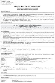 Example Software Engineer Resume Resume Bank