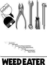 weed eater lawn mower parts diagrams. owner\u0027s manual weed eater lawn mower parts diagrams g