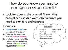a compare and contrast essay shows the differences and how to write a compare and contrast essay