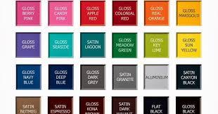 Rustoleum Paint Chart Rustoleum 2x Spray Paint Colors Chart Www