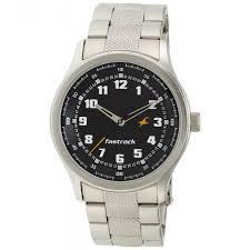 3001sm01 fastrack watch for men buy fastrack men silver chain fastrack 3001sm01