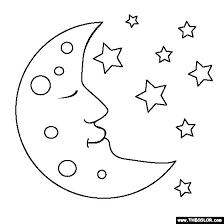 Small Picture 103 best MOON AND STARS images on Pinterest Drawings Coloring