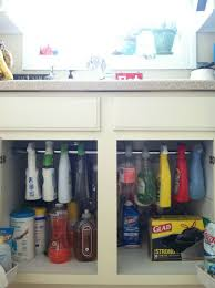 3 a hanging space for bottle cleaners
