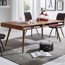 Esszimmertisch Sheesham 200x77x100 Cm Massivholz Tisch Designer Küchentisch Holz Massivher Holztisch Rustikal Speisetisch Massives Echt Holz