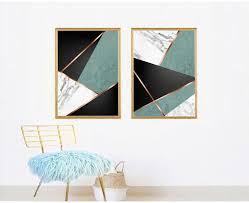 set digital prints modern abstract art