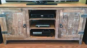 48 Supurb Reclaimed Wood Tv Stands Distressed Tv Stand U65