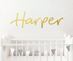 customised name decal on nursery wall art nz with customised name decal your decal shop nz designer wall art