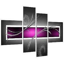 abstract canvas wall art ebay