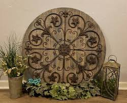 large rustic french country circular