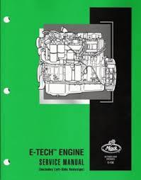 e tech engine service manual mack e tech engine service manual