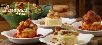 lasagna mia is at olive garden with over 20 combinations to choose from create now