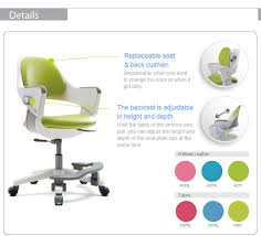 office chair for kids. Ergonomic Kids Chair With Adjustable Back : Fursys Ringo S500ACV / Made In Korea Office For D