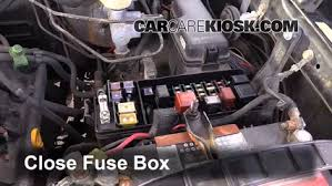 replace a fuse 1998 2007 lexus lx470 1999 lexus lx470 4 7l v8 6 replace cover secure the cover and test component