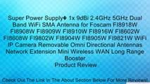 Super Power Supply? 10 <b>x 9dBi 2.4GHz</b> 5GHz Dual Band WiFi RP ...
