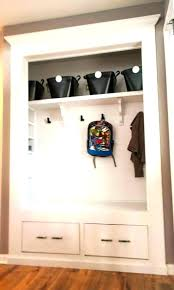 coat closet storage ideas entrance closet ideas coat closet shoe storage ideas