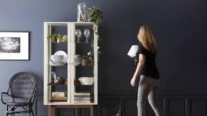 Ikea Ideas How To Make A Stylish Cabinet Display Youtube