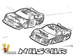 Full Force Race Car Coloring Pages Free Nascar Mandala Coloring