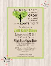 Printable Family Reunion Invitations Family Reunion Invite Printable Digital Invitation
