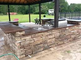 outdoor countertop ideas best outdoor kitchen grill with marble outdoor tile countertop ideas