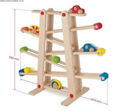 distress size eichhorn wood roller coaster marble run wooden toy track new fvorayxj