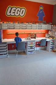 First he used the table with his green toys barn and schleich farm animals.then, his short track of ikea trains. Diy Lego Table Incredible Ikea Hacks
