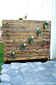 privacy wall outdoor wooden pallets used in a vertical green wall outdoor privacy wall designs privacy wall outdoor