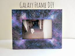 supplies wooden frame paint in black blue purple pink and white paintbrush sponge glitter optional