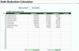 Debt Snowball Calculator Excel Enewspaper Club