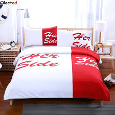 full size of red and black duvet covers double bed cilected red white bedding set his