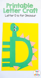 Kindergarten Art Lesson Plans Printable Letter Crafts For Dinosaur Fun With Mama Free