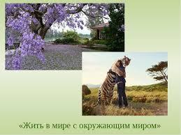 Реферат Экология и экологическое поведение   Жить в мире с окружающим миром