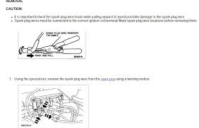 how do you remove spark plug wire retaining clips on my ford graphic graphic