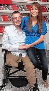 Our love has survived bomb blast that cost my boyfriend his legs   London  Evening Standard