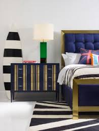 showroom bedroom antoinette cynthia cynthia rowleys parker striped bachelors chest and balthazar upholster