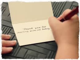 Thank You Note Examples How To Write Professional Thank You Cards Strengthen Business