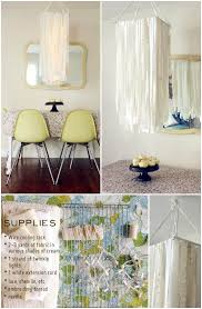 diy oversized fabric garland pendant light or chandelier handcrafted oversized fabric garland pendant light