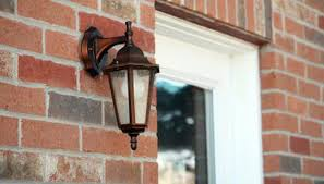 made of weather resistant material outdoor fixtures come with a rubber gasket to seal out moisture if no gasket is supplied with the fixture or you are