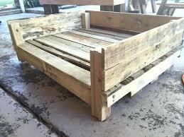 diy pallet dog bed instructions how to make a pallet dog bed restate