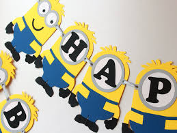 minion wall decor superb birthday decorations inspired deable me minions
