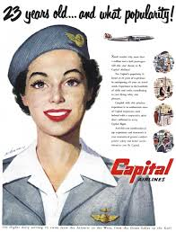 airlines history the stewardess during the s the period william