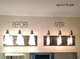 industrial bathroom vanity lighting. Delighful Industrial Industrial Bathroom Chic Vanity Lights And Industrial Bathroom Vanity Lighting