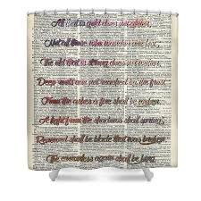 Bilbo Baggins Quotes Cool Bilbo Baggins Quote Vintage Art Shower Curtain For Sale By Anna W