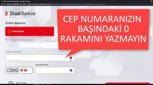 Ziraat İnternet Bankacılığı Açma www.ziraatbank.com.tr - YouTube