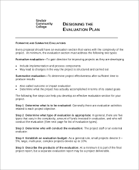 8+ Project Evaluation Templates - Free Sample , Example , Format ...